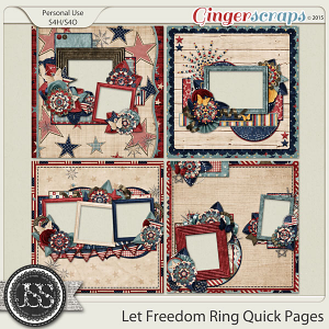 Let Freedom Ring Quick Pages