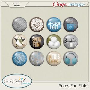 Snow Fun Flair