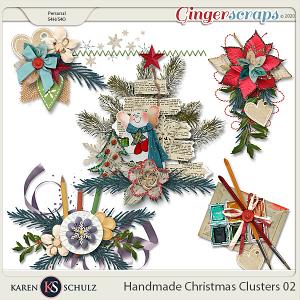 Handmade Christmas Clusters 02 by Karen Schulz