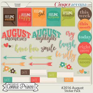 #2016 August - Sticker Pack