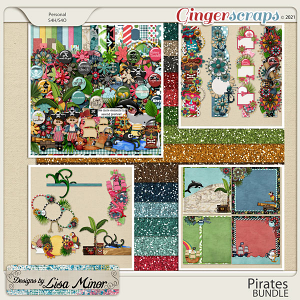 Pirates BUNDLE from Designs by Lisa Minor