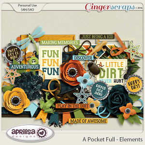 A Pocket Full - Elements by Aprilisa Designs
