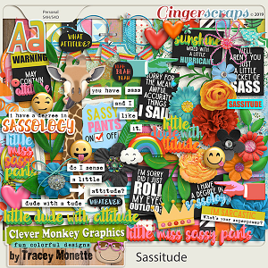 Sassitude by Clever Monkey Graphics