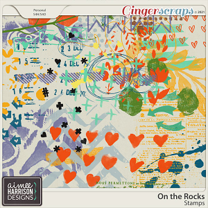 On the Rocks Stamps by Aimee Harrison