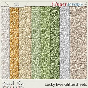 Lucky Ewe Glittersheets