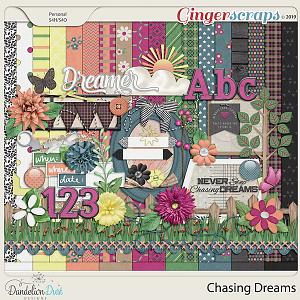Chasing Dreams Digital Scrapbook Kit by Dandelion Dust Designs