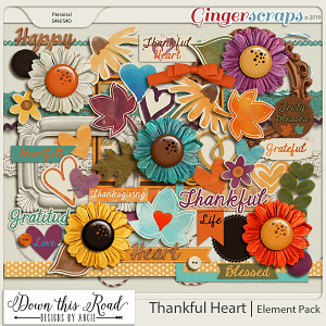 Thankful Heart | Element Pack