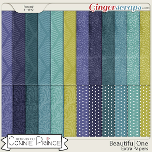 Beautiful One - Extra Papers by Connie Prince