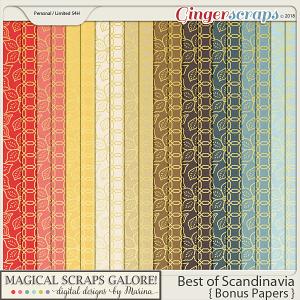 Best of Scandinavia (bonus papers)