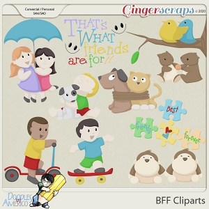 Doodles By Americo: BFF Cliparts