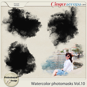 Watercolor photomasks Vol.10
