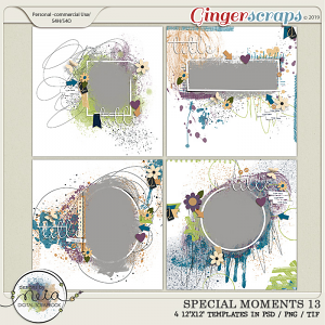 Special Moments- VOL.13 - Templates - by Neia Scraps