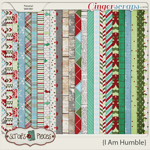 I Am Humble Papers by Scraps N Pieces