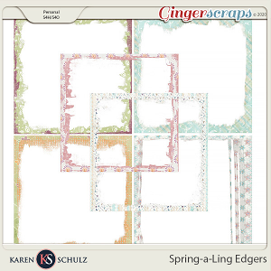 Spring-a-Ling Edgers by Snickerdoodle Designs