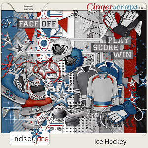 Ice Hockey by Lindsay Jane