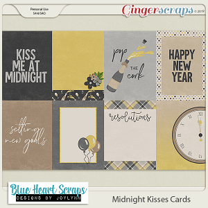 Midnight Kisses Cards
