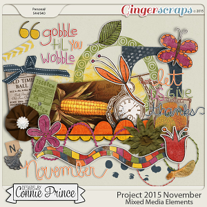 Project 2015 November - Mixed Media Elements