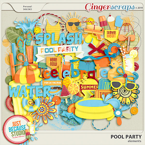 Pool Party Elements by JB Studio