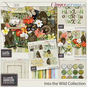 Into the Wild Collection by Aimee Harrison