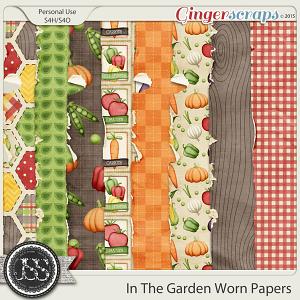 In the Garden Worn Papers