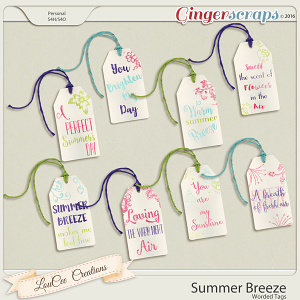Summer Breeze Word Tags