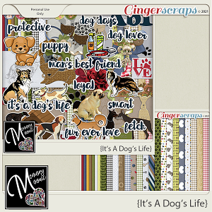 It's A Dog's Life by  Memory Mosaic