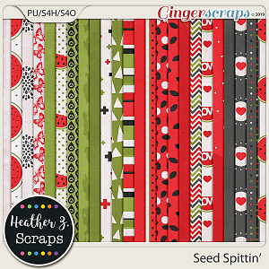 Seed Spittin' PAPERS by Heather Z Scraps