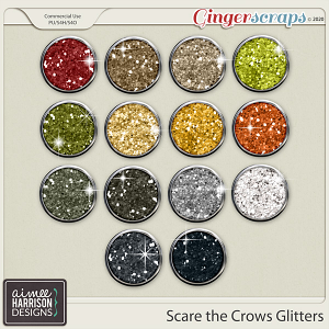 Scare the Crows Glitters by Aimee Harrison