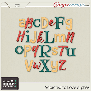 Addicted to Love Alpha Sets by Aimee Harrison