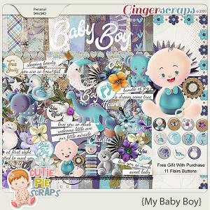 My Baby Boy Page Kit