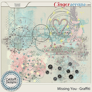 Missing You - Graffiti by CathyK Designs