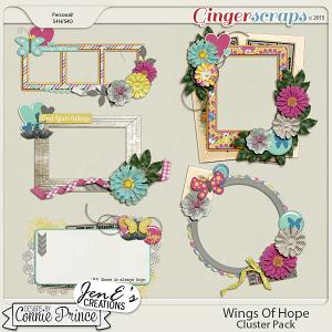 Retiring Soon - Wings Of Hope - Cluster Pack