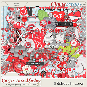 GingerBread Ladies Collab: I Believe In Love