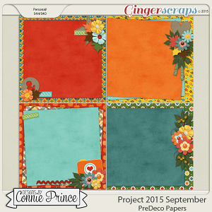 Project 2015 September - PreDeco Papers