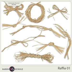 Raffia 01 by Karen Schulz