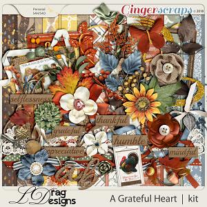 A Grateful Heart by LDragDesigns