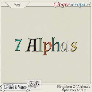 Kingdom Of Animals - Alpha Pack AddOn