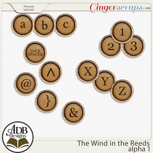 The Wind in the Reeds Alpha Set 01 by ADB Designs