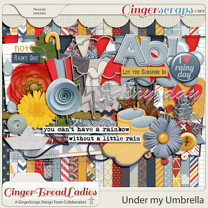 GingerBread Ladies Collab: Under My Umbrella