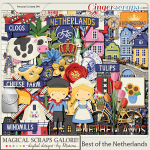 Best of the Netherlands (page kit)