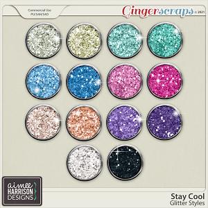 Stay Cool Glitters by Aimee Harrison