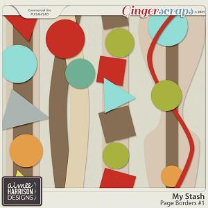 My Stash Border Templates #1 by Aimee Harrison