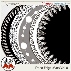 Deco Mats Vol 08 by ADB Designs