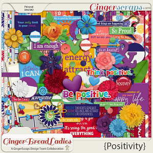 GingerBread Ladies Collab: Positivity
