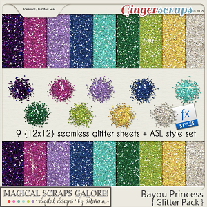 Bayou Princess (glitter pack)
