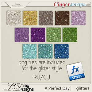 A Perfect Day: Glitterstyles by LDrag Designs