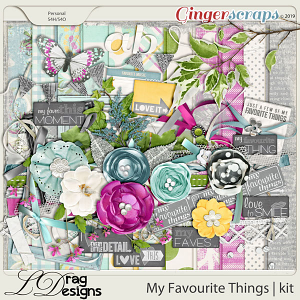 My Favourite Things by LDragDesigns