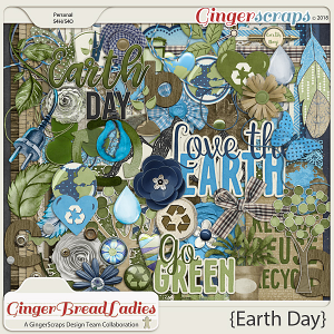 GingerBread Ladies Collab: Earth Day
