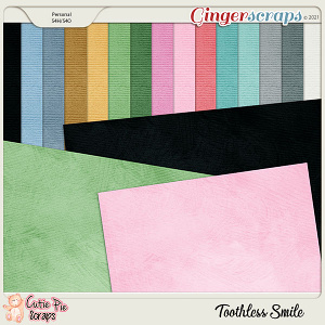 Toothless Smile Solid Papers