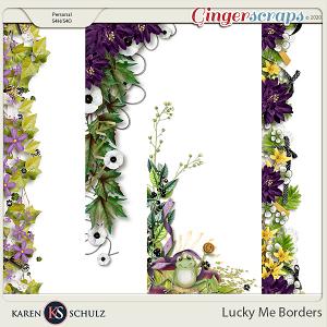 Lucky Me Borders by Karen Schulz